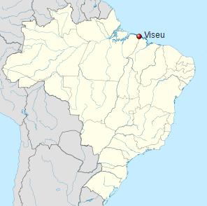 Localização Viseu no Brasil