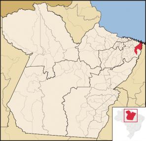 Localização Viseu no Pará